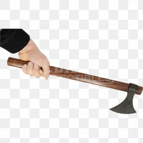 Weapon - Throwing Axe Middle Ages Battle Axe Weapon Splitting Maul PNG