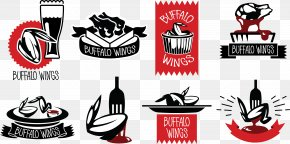 BBQ Barbecue Grilled Hot Meat Platter - Buffalo Wing Barbecue Logo Hot Chicken Barbacoa PNG