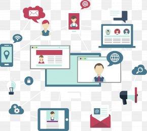 Network - Social Media Social Network PNG