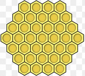 Bee - Western Honey Bee Beehive Clip Art Honeycomb PNG