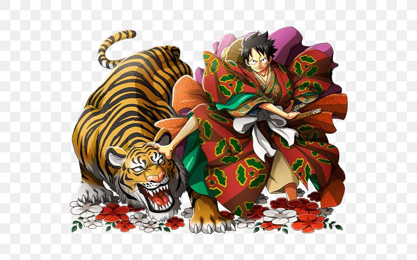 Monkey D. Luffy One Piece Treasure Cruise Roronoa Zoro Nami, PNG, 640x512px, Monkey D Luffy, Big Cats, Carnivoran, Cat Like Mammal, Going Merry Download Free