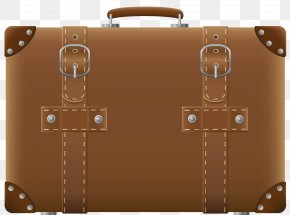 Brown Suitcase Clipart Picture - Suitcase Baggage Clip Art PNG