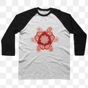 Abstract Design For T Shirt - Long-sleeved T-shirt Hoodie Raglan Sleeve PNG