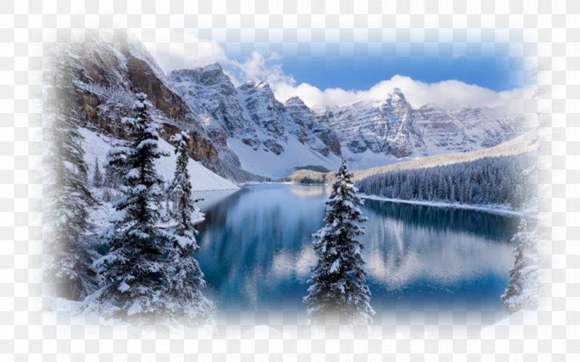 Moraine Lake Lake Louise Ski Resort Desktop Wallpaper Png