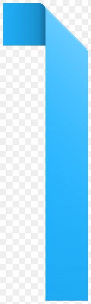 Ribbon Number One Transparent Clip Art Image - Paper Blue Sky Brand PNG