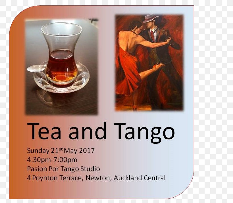 Tango Sunday Milonga Tea Dance, PNG, 800x713px, Tango, Auckland, Beverages, Calendar, Dance Download Free