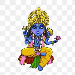 Vishnu - Hinduism Vishnu Lakshmi PNG