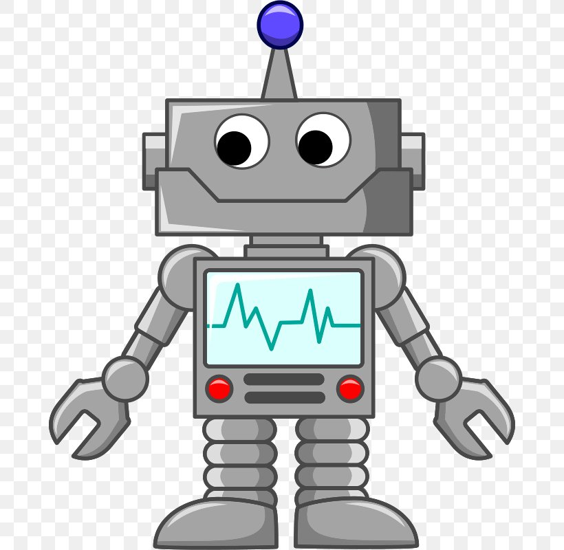 Robot Cartoon Clip Art, PNG, 678x800px, Robot, Android