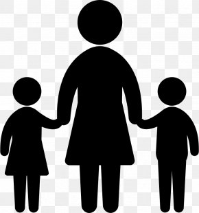 Child - Vector Graphics Child Mother Silhouette Woman PNG