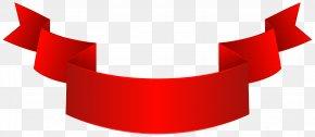 Red Banner Clip Art Image - Clip Art PNG