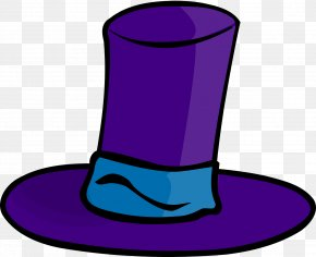 Blue Top Hat - Hat Cartoon Stock Photography Royalty-free Clip Art PNG