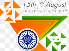 Falun Vector Triangle With India - Indian Independence Day Poster Clip Art PNG