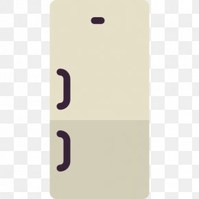 One Pair Of Door Refrigerator - Refrigerator Home Appliance PNG