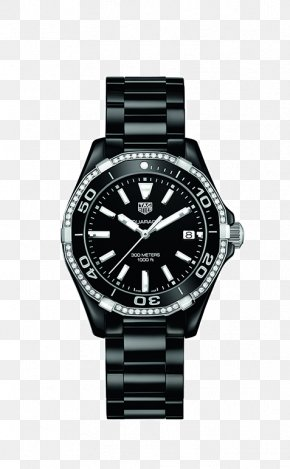 Watch - TAG Heuer Aquaracer Watch Jewellery Chronograph PNG
