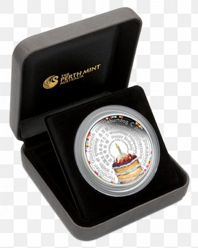 Phone 18th Birthday Present - Perth Mint Proof Coinage Silver Coin PNG