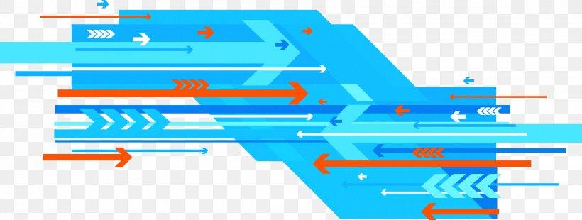 Technology Blue Euclidean Vector Arrow, PNG, 2244x850px, Technology, Area, Blue, Color, Diagram Download Free