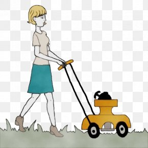 Drawing Street Sweeper - Watercolor Drawing PNG