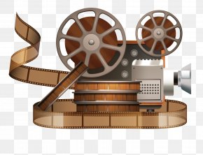 Video Recorder - Movie Projector Reel Film PNG