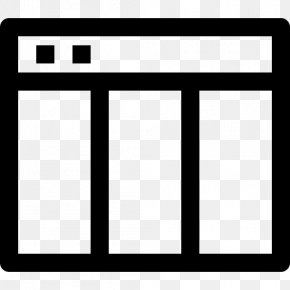 Rectangle Page Layout - Window Cartoon PNG