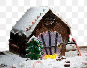Christmas Igloo - Igloo Christmas Decoration PNG