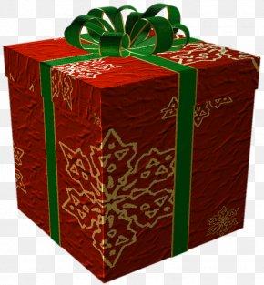 Christmas Present - Christmas Gift Clip Art PNG