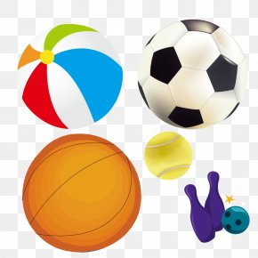 Ball Games - Football Bowling Ball Clip Art PNG