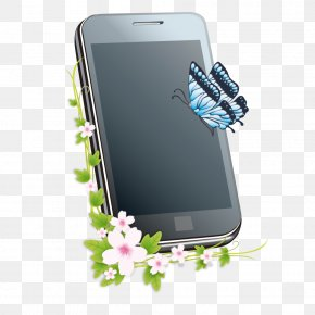 Creative Mobile Phone - Smartphone Feature Phone Poster PNG