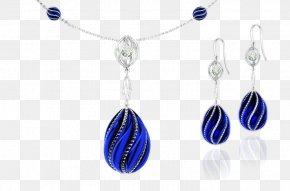 Jewelry - Earring Blue Necklace Jewellery PNG