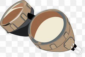 GOGGLES - Goggles Leather Helmet Clip Art PNG