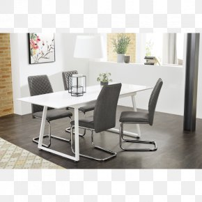 Table - Table Cantilever Chair Furniture Dining Room PNG