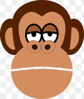 Chimpanzee - Chimpanzee Ape Baby Monkeys Clip Art PNG