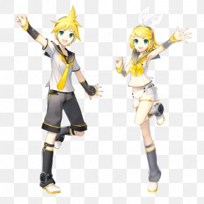 Hatsune Miku - Kagamine Rin/Len Vocaloid Hatsune Miku: Project DIVA Art PNG