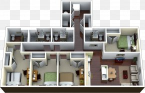 Apartment - Apartment House Bedroom Renting Vacation Rental PNG