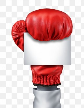 Boxing Gloves In A Note - Combat Boxing Food Cancer Stock Photography PNG