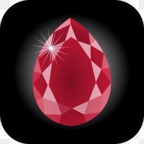 Ruby Cliparts Free - Ruby Gemstone Birthstone Clip Art PNG