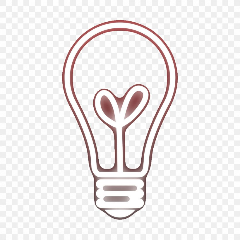 Graphic Design Incandescent Light Bulb, PNG, 1000x1000px, Watercolor, Cartoon, Flower, Frame, Heart Download Free