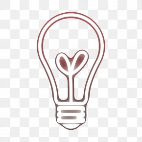 Bulb Graphic Design - Graphic Design Incandescent Light Bulb PNG