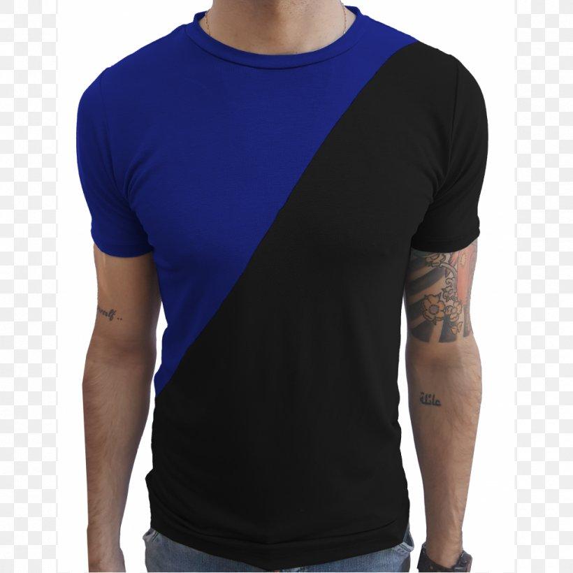 T-shirt Collar Blouse Sleeveless Shirt, PNG, 1000x1000px, Tshirt, Active Shirt, Arm, Blouse, Blue Download Free