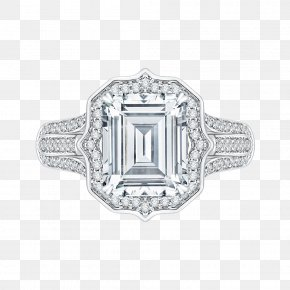 Engagement Ring - Engagement Ring Jewellery Carat Diamond Cut PNG