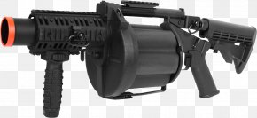 Grenade Launcher - Airsoft Grenade Launcher 40 Mm Grenade Shell PNG