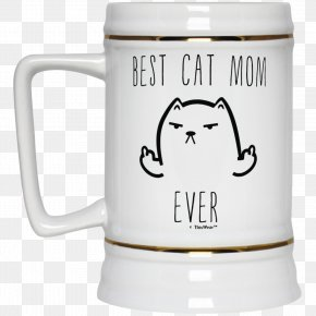Best Mom Ever - Beer Stein Drink Mug Dog PNG