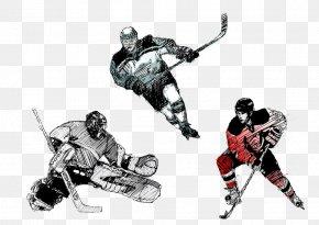 Hockey Player - Ice Hockey Player Goaltender Mask Hockey Field PNG