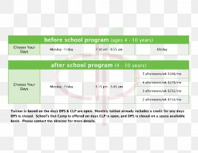 Timetable Countdown Creative Plans - Swigert International School Summer Camp After-school Activity Pre-school PNG