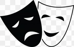 Anonymous Mask - Tragedy Drama Theatre Comedy Clip Art PNG