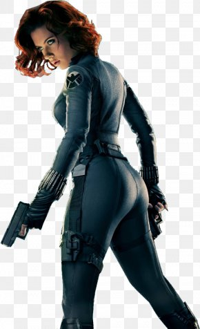 Black Widow Clipart - Black Widow Elektra The Avengers Captain America Scarlett Johansson PNG