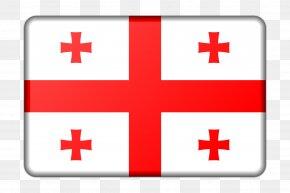 Flag - Flag Of Georgia National Flag Flag Of The United States PNG