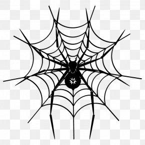 Spider - Spider Web Sticker Adhesive Clip Art PNG