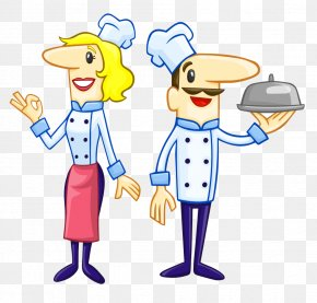 Chef Cook Vector - Chef Cartoon Clip Art PNG