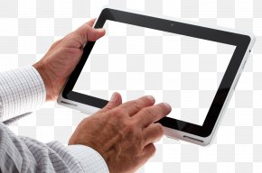 Hand Using Tablet - IPad Graphics Tablet Information PNG