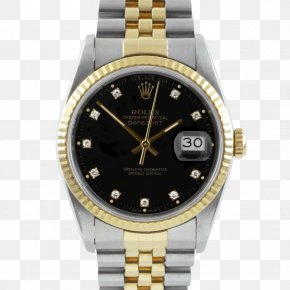 Rolex - Rolex Datejust Watch Jewellery Gold PNG